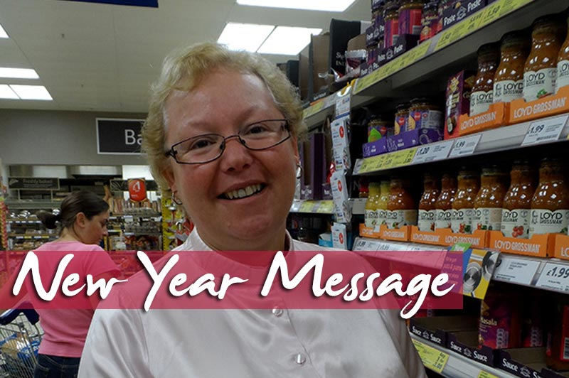 New Year Message From Hilary