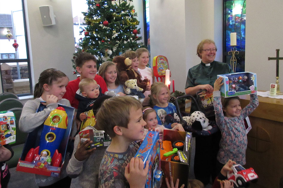 Toys For Church : Christmas toy service