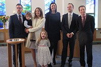 Nathaniel's Christening