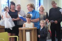 Recce and Holly's Christening