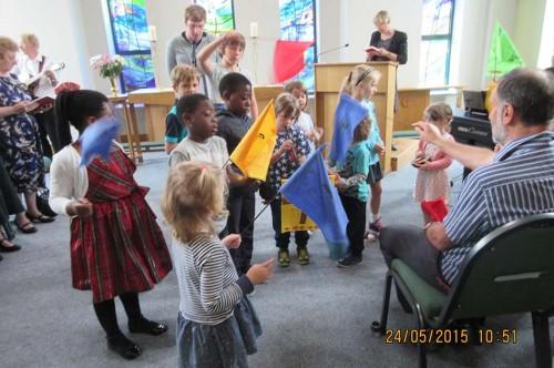 Service Review: Pentecost 2015; ?>