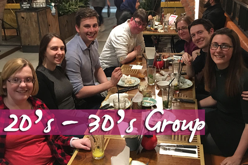 20's - 30's Group