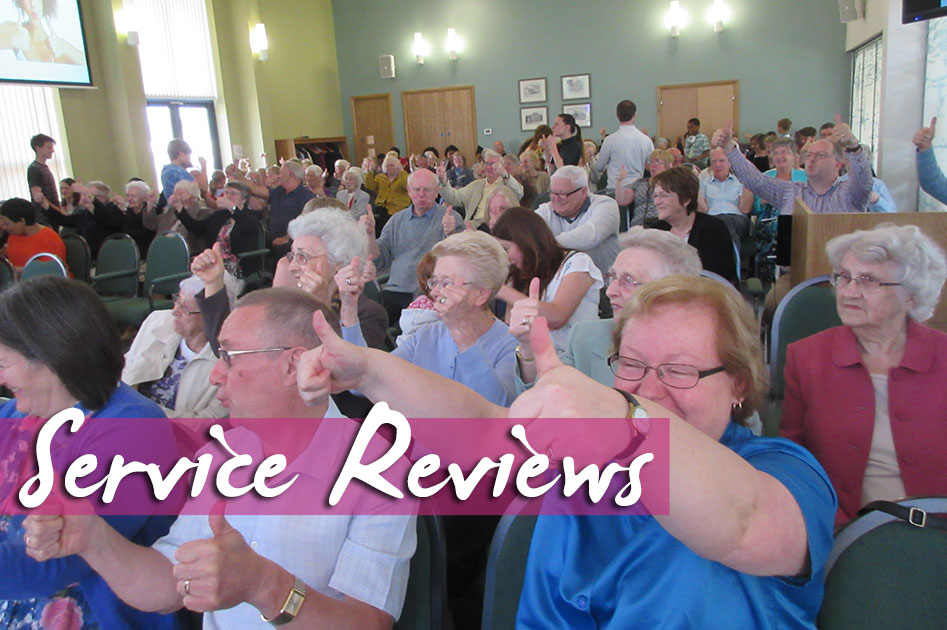 Service Review: 22nd May 2016