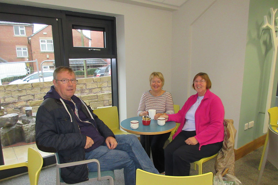 Catch Up With What's Happening! Drop in to the Cafe Lounge at The Triangle Community Church