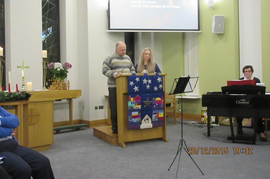 Carol Service at The Triangle Community Church