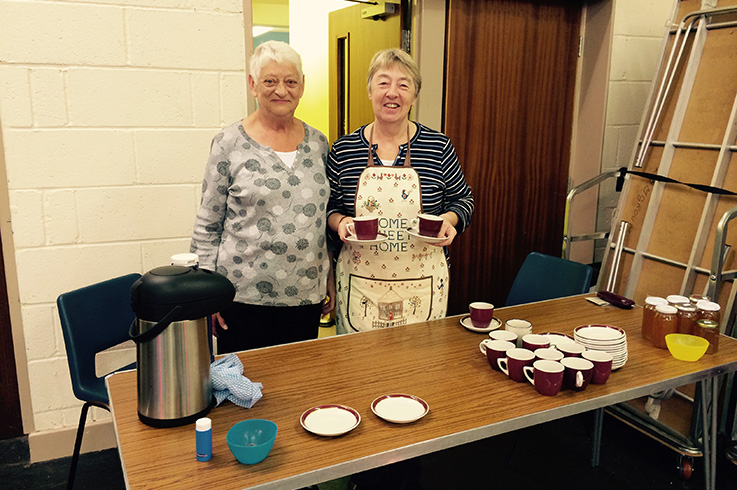 Coffee Time at The Triangle Community Methodist Church