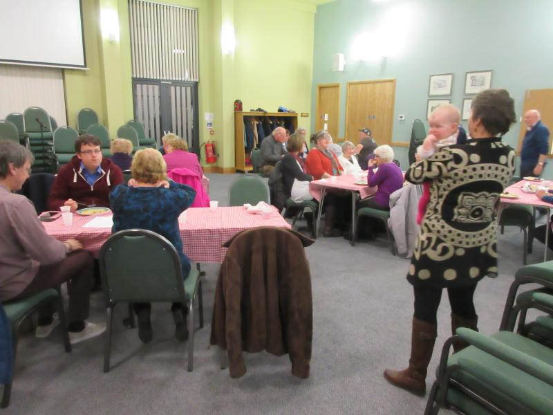 A Passover Meal At The Triangle Community Church