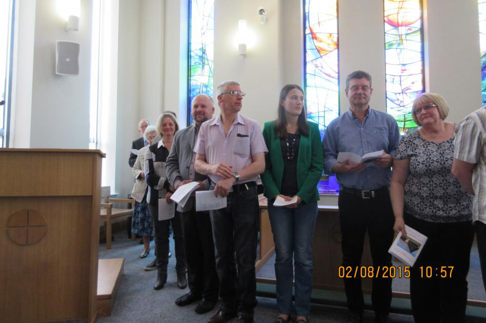 New Members at The Triangle Community Church