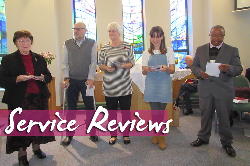 Service Review - 6th November 2016