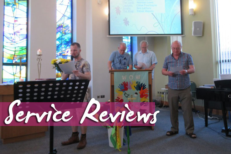 Service Review: 18th June 2017