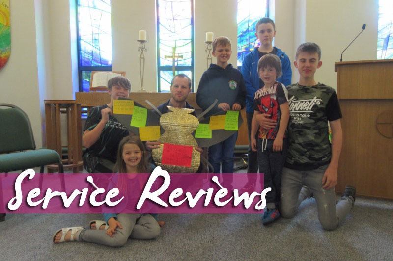 Service Review: 28th May 2017