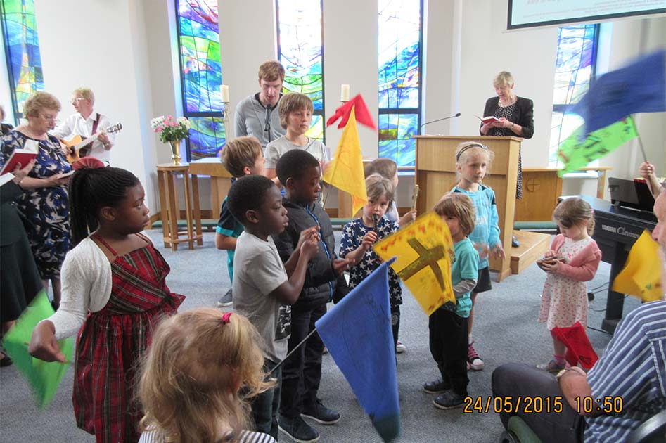 Pentecost at The Triangle Community Church