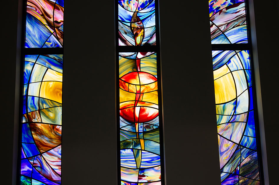 Beautiful Stained Glass Windows by Linda Walton of Design Lights