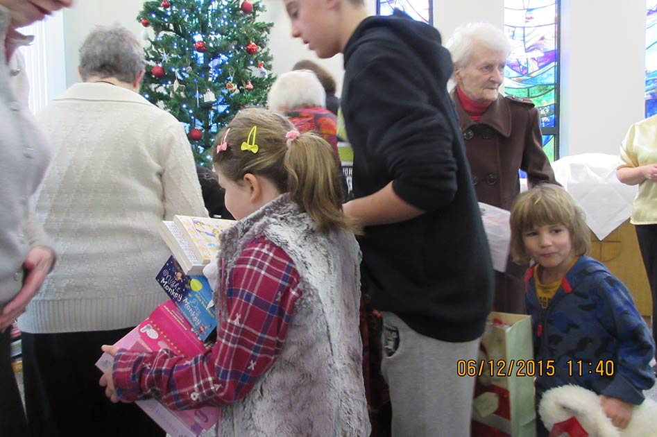 2015's Toy Service at The Triangle Community Church